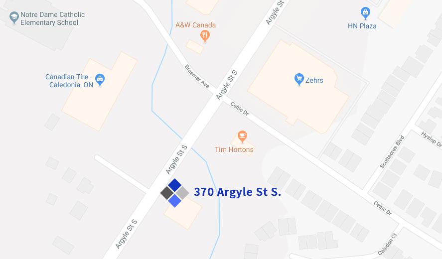 Argyle Physio Location Map